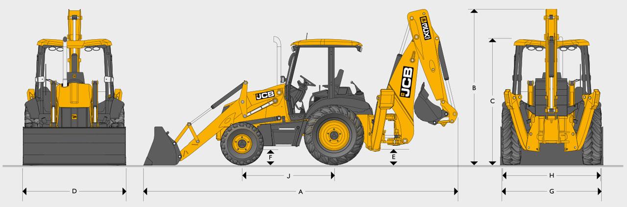 JCB 3CX-14 Backhoe Loader